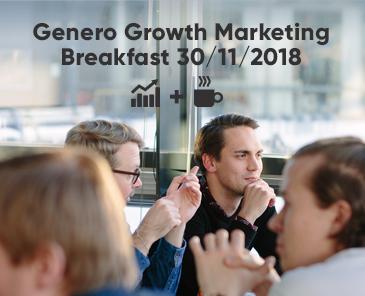 Genero Growth Marketing Breakfast in Helsinki, November 30th 4