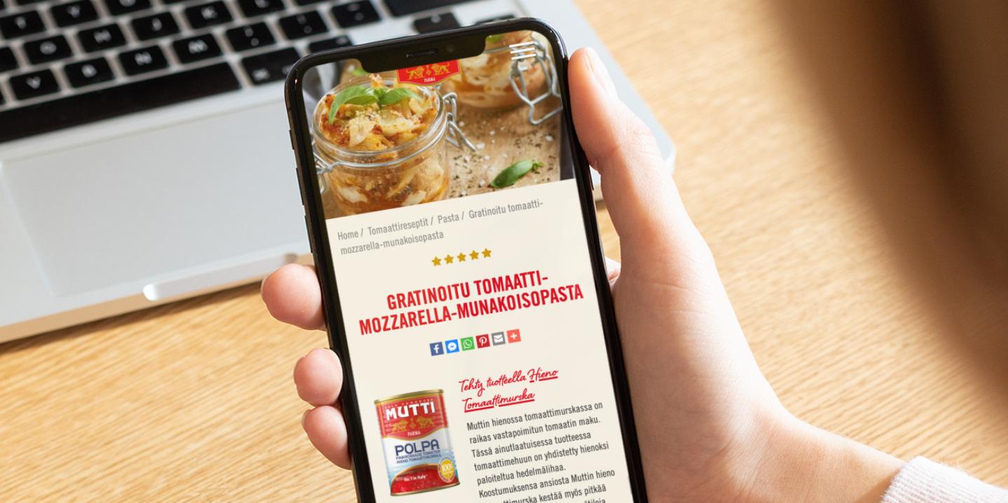 Website development for Mutti